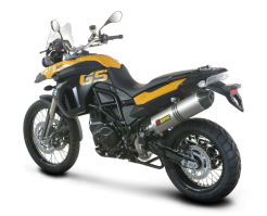 Tłumik Akrapovic BMW F 800 GS / F 650 GS Slip-On EC