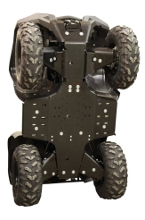 Osłony spodu HDPE do Yamaha Grizzly 700 2016+ Iron Baltic